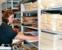 Характеристика работ сотрудников архивов
